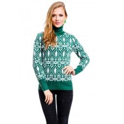 фото Свитер Mondigo 10001. Цвет: зеленый. Размер одежды: 42