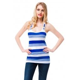 фото Майка Mondigo 8553. Цвет: голубой. Размер одежды: 46