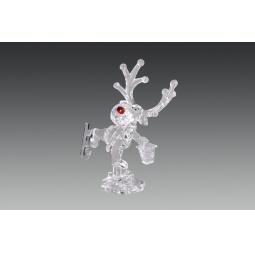 фото Декорация новогодняя Holiday Classics «Лось на коньках с фонарем»