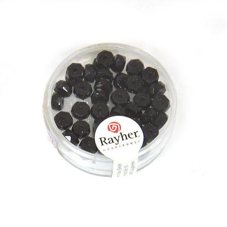 Купить Бусины граненые из стекла Rayher 14204576