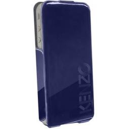 фото Чехол Kenzo Glossy Logo Case для iPhone 5. Цвет: синий