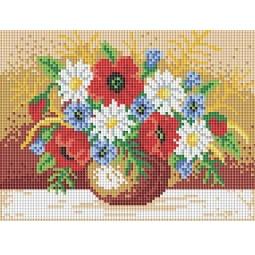 фото Набор для создания мозаичной картины Белоснежка «Полевой букет»