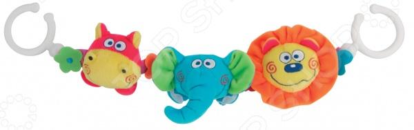 фото Игрушка-подвеска Мир детства «Зверята», Погремушки. Подвески