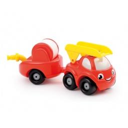 Купить Игровой набор Smoby «Грузовик пожарный с прицепом»