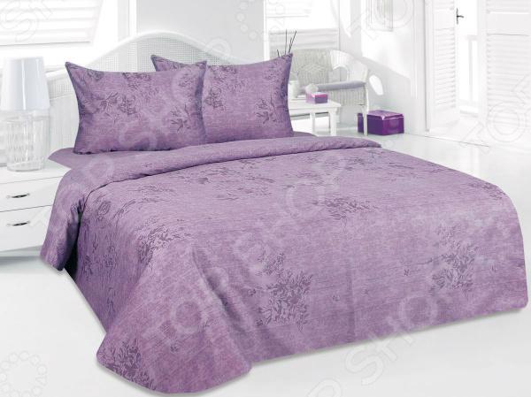 Комплект постельного белья Tete-a-Tete «Дорис». 1,5-спальный1,5-спальные<br>Здоровый и комфортный сон зависит не только от того насколько удобные и мягкие ваш матрас и подушка. Не в последнюю роль играет постельное белье, на котором вы спите каждый день. Очень важно при выборе постельного белья ориентироваться не только на его цену и яркий дизайн, но и на качество, и плотность, тип материала. Жесткие и плотные ткани, пусть даже и натуральные, не подходят для ежедневного использования, ведь они могут причинить коже удивительный дискомфорт, вызвав её покраснения и раздражения. На такой постели также часто образуются катышки, которые в конец портят внешний вид белья и ваше настроение. Качественное постельное белья для комфортного сна! Комплект постельного белья Tete-a-Tete Дорис красивое сатиновое постельное белье, которое покорит вас своей красотой, элегантностью, прочностью и изысканностью. Благодаря тому, что эта ткань изготавливается из натурального хлопкового материала комбинированного плетения, он сочетает в себе прочность, легкость и удивительную износоустойчивость! Эта ткань относится к категории высококачественных тканей, поэтому идеально подходит для повседневного использования. Белье из такой ткани имеет благородный блеск, утонченный внешний вид и дарит приятные прикосновения.  Только самое лучшее для вашего дома! Этот комплект постельного белья обладает рядом достоинств, которые вы сможете высоко оценить:  сатиновое постельное белье не электризуется и практически не мнется;  за счет шероховатой поверхности изнаночной стороны не скользит по кровати;  плотное переплетение крученых нитей позволяет белью сохранить свою первоначальную форму даже после многочисленных стирок;  прекрасно пропускает воздух и впитывает влагу;  натуральные хлопковые волокна являются неблагоприятной средой для размножения пылевых клещей и грибков;  внешняя сторона гладкая и шелковистая, поэтому к ней не прилипает шерсть животных.  Великолепный дизайн! Особое внимание заслуживает дизайн