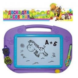 Купить Доска для рисования магнитная Shantou Gepai «Учись играя!» GB601R. В ассортименте