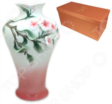 Ваза Elan Gallery «Олеандр» вазы elan gallery ваза павлин в райском саду