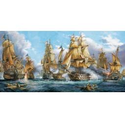 Купить Пазл 4000 элементов Castorland «Морской бой»