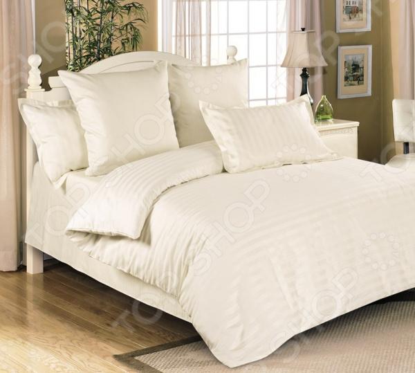 Комплект постельного белья Королевское Искушение «Шампань» 1710295. 1,5-спальный