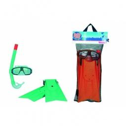 Купить Набор: очки для плавания, трубка и ласты Simba