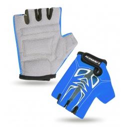 Купить Велоперчатки детские Larsen 01-2766. Цвет: синий