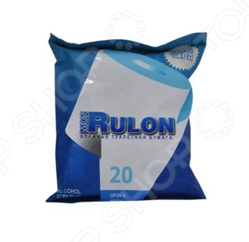 Туалетная бумага влажная гипоаллергенная антибактериальная Авангард MR-48123 Mon Rulon влажная туалетная бумага mon rulon не содержит спирта влажная гипоаллергенные 50 шт