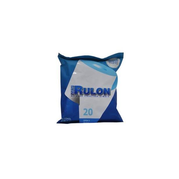 фото Туалетная бумага влажная гипоаллергенная антибактериальная Авангард MR-48123 Mon Rulon