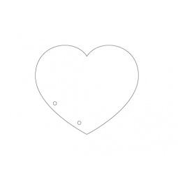фото Набор листов-заготовок для альбома Hobby&You «Сердце»