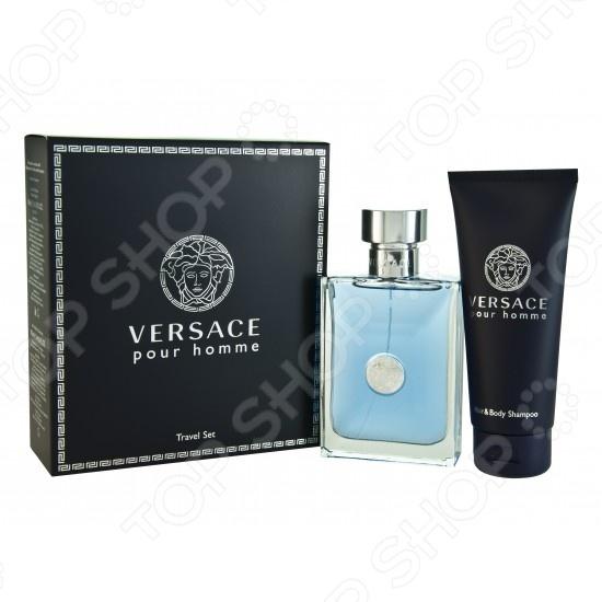 Набор: туалетная вода и гель для душа Versace Pour Homme Pour Homme, 100 мл