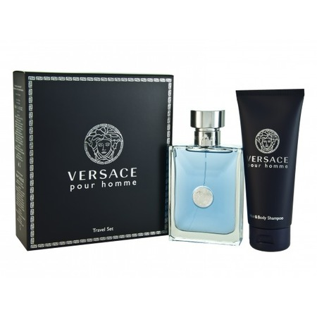 Купить Набор: туалетная вода и гель для душа Versace Pour Homme Pour Homme, 100 мл