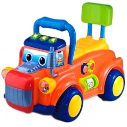 фото Машина-каталка со звуком Shantou Gepai «Веселый грузовик»