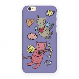 фото Чехол для iPhone 6 Mitya Veselkov «Коты-амуры» IP6 202
