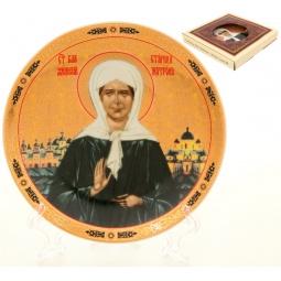 Купить Тарелка декоративная Elan Gallery «Матрона Московская» 502758