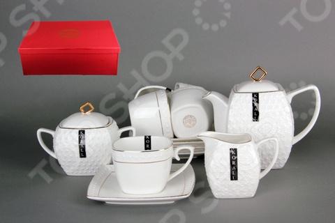 Чайный набор Коралл LQT0115-A «Снежная королева» стеллар детская посуда чайный набор