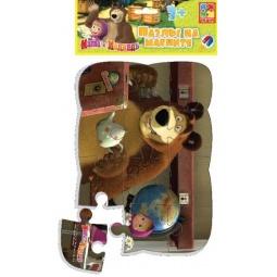 фото Пазл магнитный Vladi Toys «Маша и глобус»