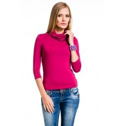 фото Водолазка Mondigo 211. Цвет: гранатовый. Размер одежды: 44