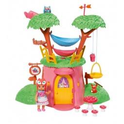 фото Набор игровой для девочки Zapf Creation «Мини-лисичка. Дерево-домик с куклой»