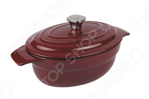 кастрюля rondell deep burgundy 24cm 2 7l rdi 700 Кастрюля Rondell Noble Red RDI-705