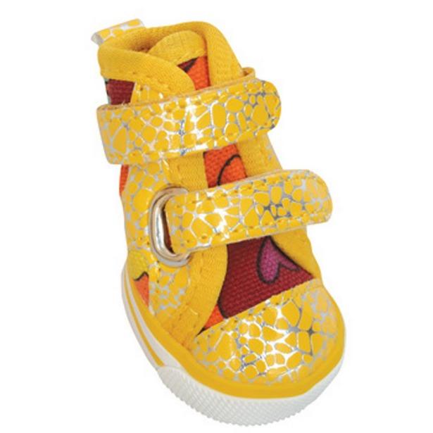 фото Обувь для собак DEZZIE «Лимон». Размер: 1 (4,6х3,5 см)