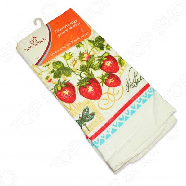 Полотенце кухонное Bon Appetit Strawberry bon appetit кухонное полотенце тыква 38х63 см