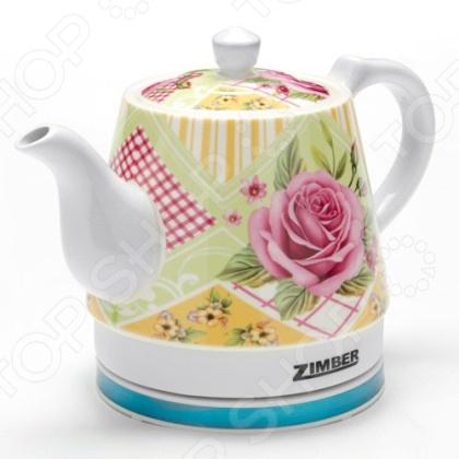 Чайник Zimber ZM-10989 чайник zimber zm 10818 2000 зелёный 1 8 л металл стекло