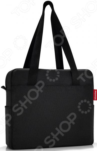 Сумка Reisenthel BusinessbagСумки для покупок<br>Сумка Reisenthel Businessbag практичная и удобная сумка, в которую можно уместить все необходимые личные вещи, документы, гаджеты и пр. Основное отделение надежно закрывается на молнию, внутри имеется множество кармашков для ручек, телефона и прочих мелочей. Ручки достаточно широкие и мягкие, поэтому сумку можно переносить не только в руках, но и на плече. Также имеется дополнительный ремень для закрепления сумки на чемодане. Универсальная темная расцветка изделия поможет совместить его с любым нарядом, что особенно актуально для представительниц женского пола. Множество отделений и карманов поможет избежать беспорядка в личных вещах.<br>