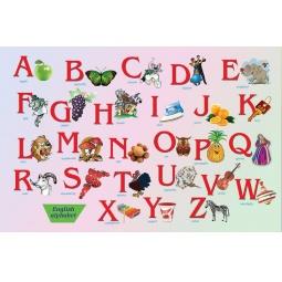 Купить Настольное покрытие Бюрократ BDM2102E «Алфавит»