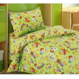 фото Ясельный комплект постельного белья Бамбино «Непоседы»