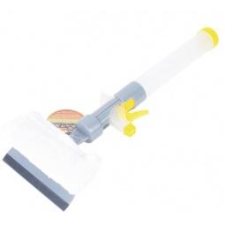 Щетка для мойки телескопическая с губкой и сгоном для воды Автостоп AB-1728 - фото 11