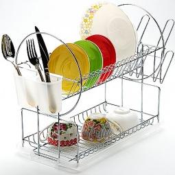 фото Сушилка для посуды Mayer&Boch Pretty. Цвет: белый