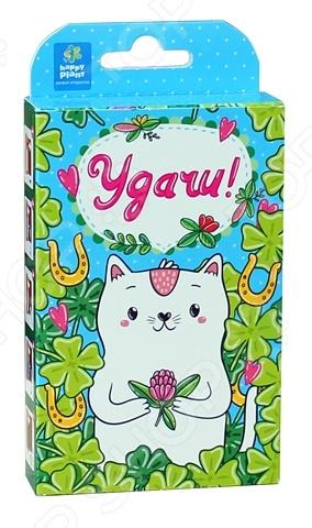 Набор подарочный для выращивания «Веселые моменты. Удачи! Кот»