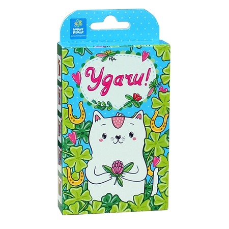Купить Набор подарочный для выращивания Happy Plant «Веселые моменты. Удачи! Кот»