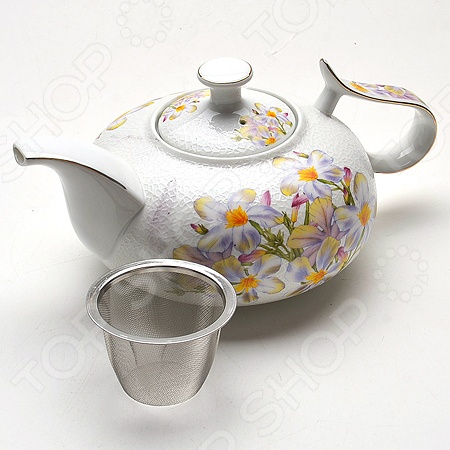 Чайник заварочный Loraine MB-21147 «Ромашка»