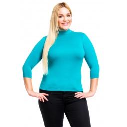 фото Водолазка Mondigo XL 7010. Цвет: изумрудный. Размер одежды: 52