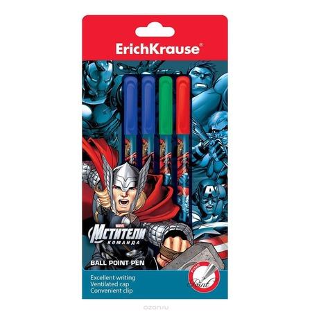 Купить Набор ручек шариковых Erich Krause «Команда Мстителей»