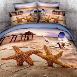 фото Комплект постельного белья с эффектом 3D Buenas Noches Hawaii. Евро