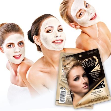 Купить Лифтинг-комплекс для лица: маска грязевая и сыворотка Naomi Mineral Mud & Lifting