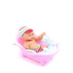 фото Игровой набор Shantou Gepai «Пупс с ванночкой»