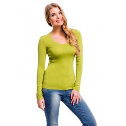 фото Кофта Mondigo 436. Цвет: зеленый. Размер одежды: 44