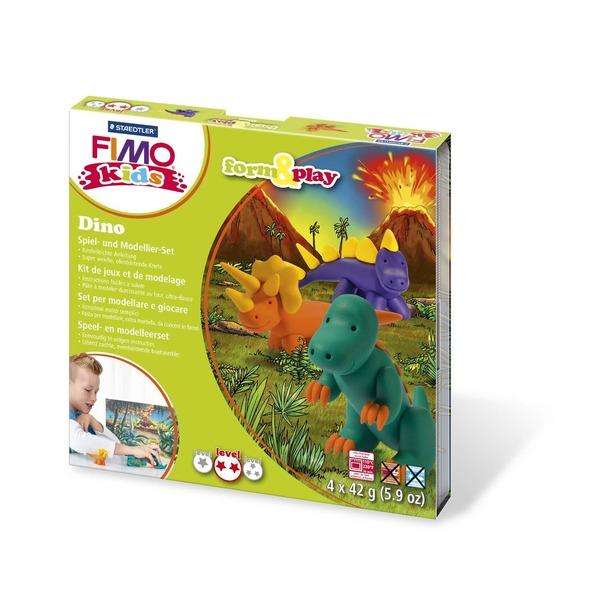 фото Набор для создания украшений детский Fimo Kids «Дино»