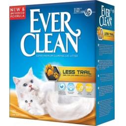 фото Наполнитель для кошачьего туалета Ever Clean Less Trail 25345. Вес упаковки: 10 кг
