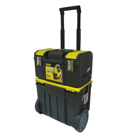 Купить Ящик с колесами STANLEY Mobile Work Center 3 в 1