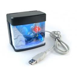 Купить Настольный мини аквариум с USB-питанием PUAQ-1001
