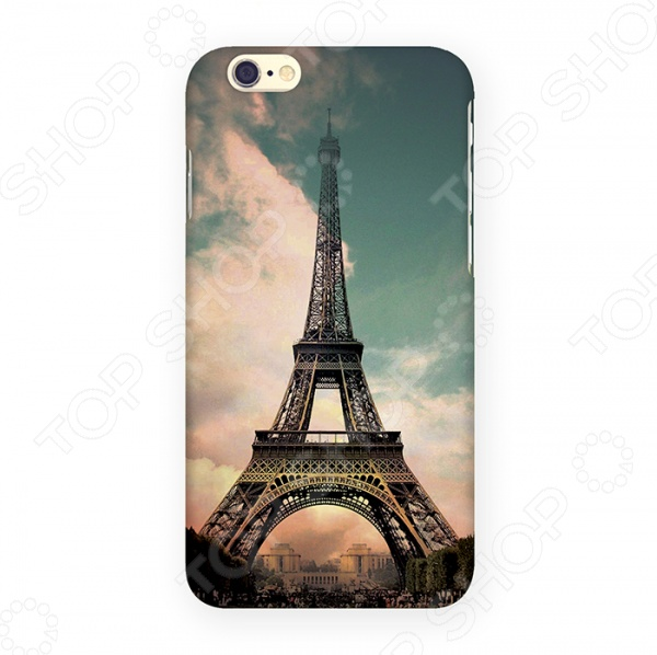 Чехол для iPhone 6 Mitya Veselkov «Эйфелева - старое фото» чехол для iphone 6 mitya veselkov эйфелева ip6 052